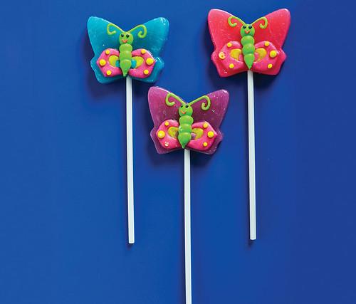 Butterfly Lollipops 12pc Set Candy