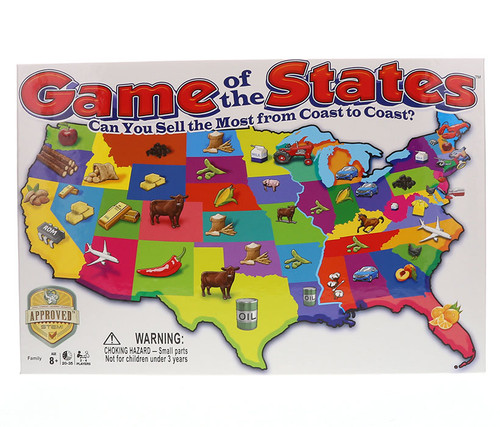 Game of the States Boardgame