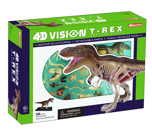 T-Rex Anatomy Model Educational Play Set