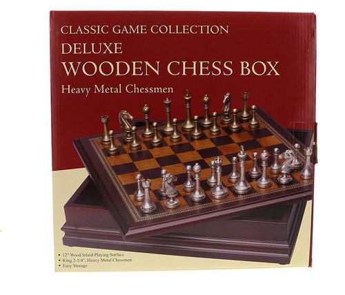 Metal Chess Set Boardgame