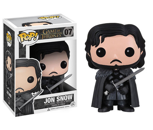 Funko POP! Game of Thrones - Jon Snow Toy Character Display Figure