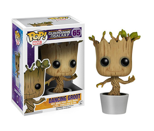 Funko POP Dancing Groot Bobble Action Toy Character Display Figure