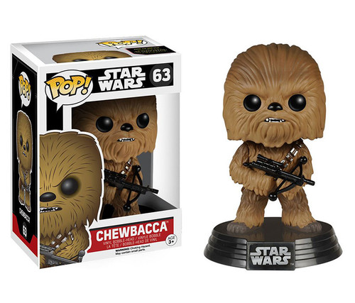 Funko POP! Chewbacca With Crossbow Vinyl Character Display Figure