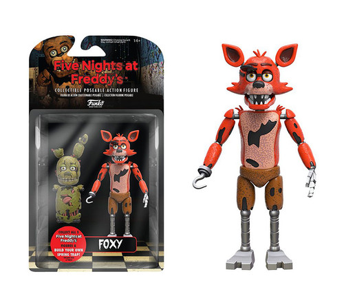 Funko Foxy 5 Inch Toy (2pc Set) Character Display Figure