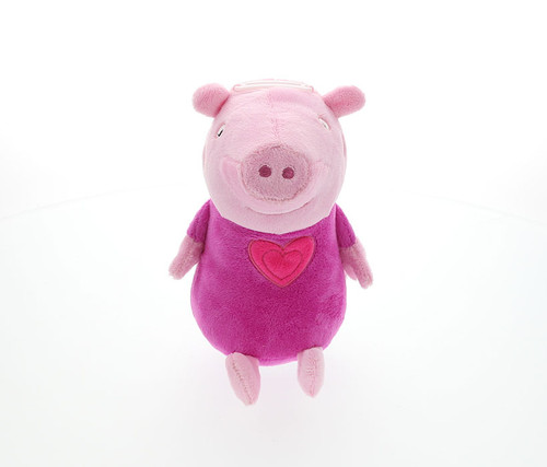 Peppa Pig 8 inch Plush Bank Plush Bank