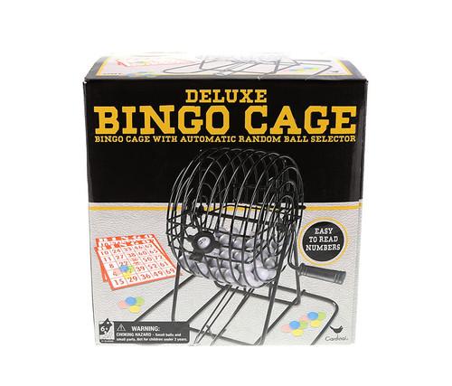 Deluxe Bingo in Cage in Box Family Game Set