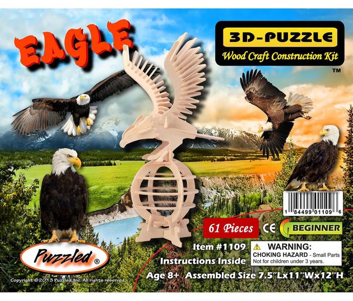 3D Puzzles Eagle