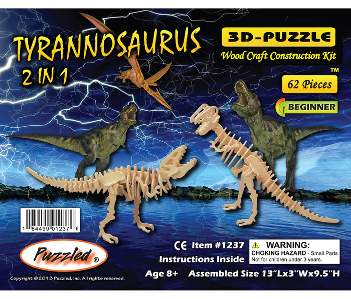 3D Puzzles Tyrannosaurus Dinosaurs