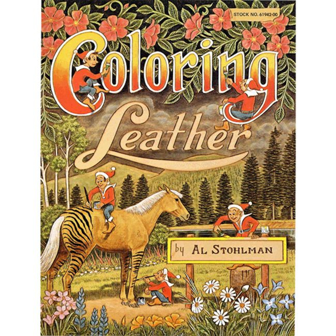 Coloring Leather Book By Al Stohlman 61942 00