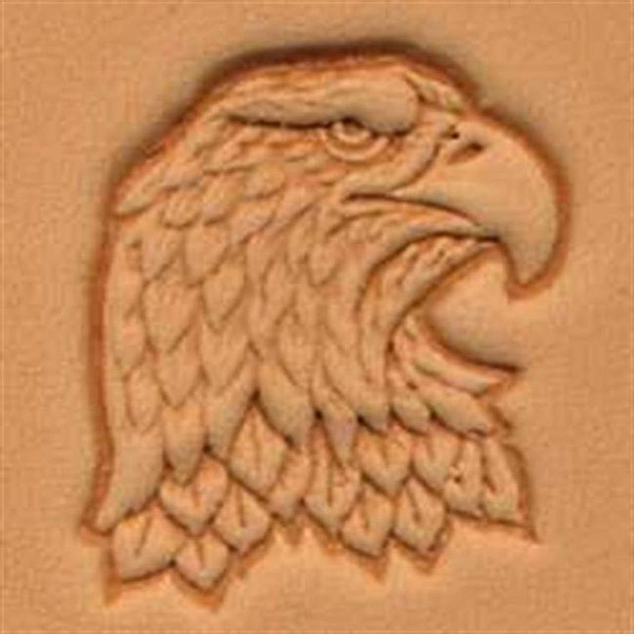 Craftool 3D Right Face Eagle Head Stamp 88344 00 By Tandy Leather