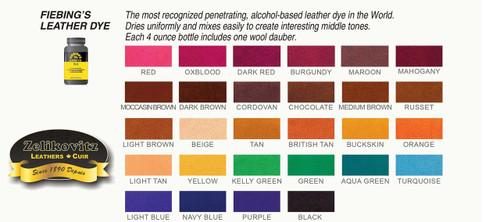 Fiebing's Leather Dye Dark Brown 4 oz 2100-03