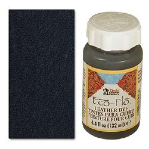 Eco-Flo Leather Dye 4.4 oz (132 mL) Coal Black 2600-01