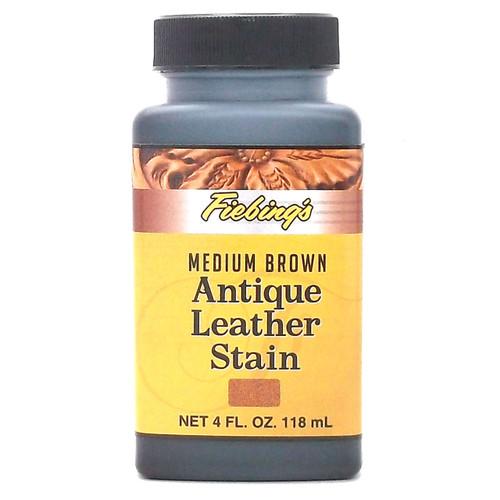 Fiebings Leather Dye Medium Brown 4 Oz 2100 04 Stecksstore