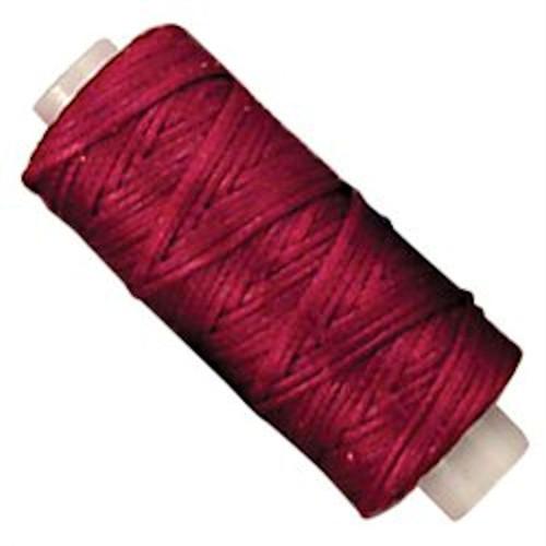 Waxed Braided Red Cord Thread 25 Yard 11210-07