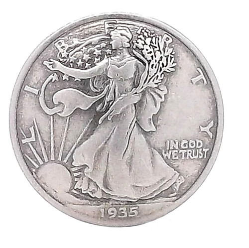 Half Dollar Walking Liberty Concho