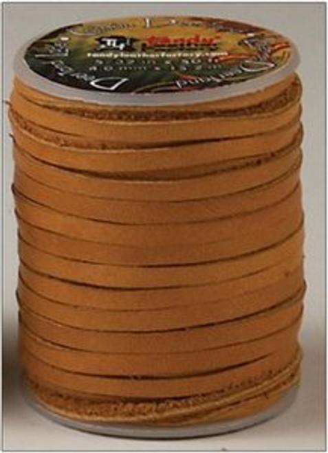 Deertan Lace Saddle Tan