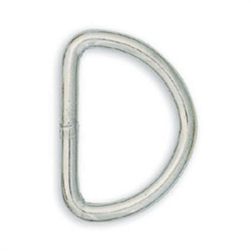 Solid D-Ring 1""