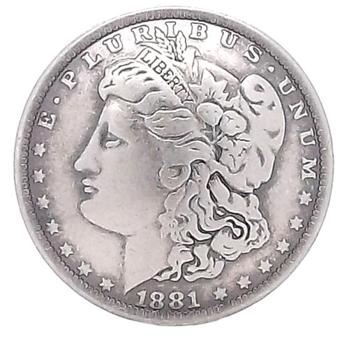 Morgan Head Dollar Screwback Concho
