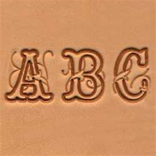 "Craftool 3/4"" Script Alphabet Stamp Set 8139-00"