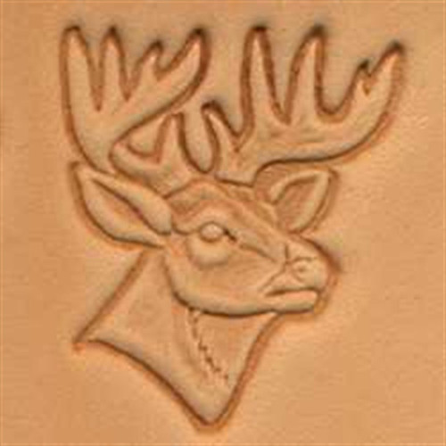 Craftool 3D Deer Head Stamp 88341-00