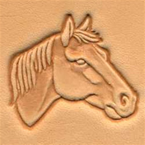 Craftool 3d  Horse Head Right Stamp 88342-00 by Tandy Leather