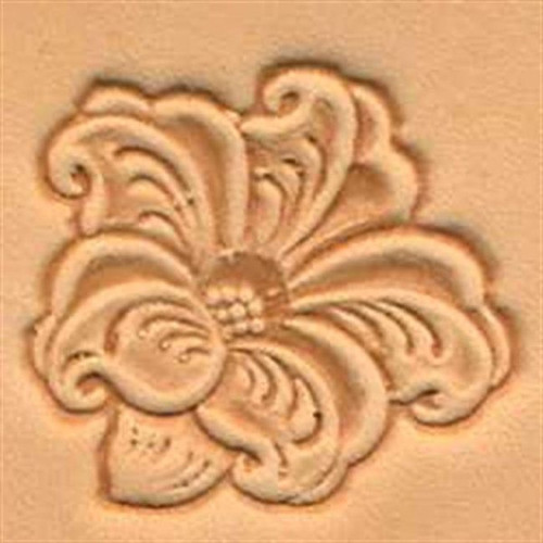 Lily 3D Stamp 88494-00 by Tandy Leather