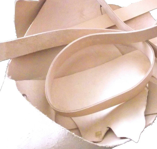 Leather Practice Scraps