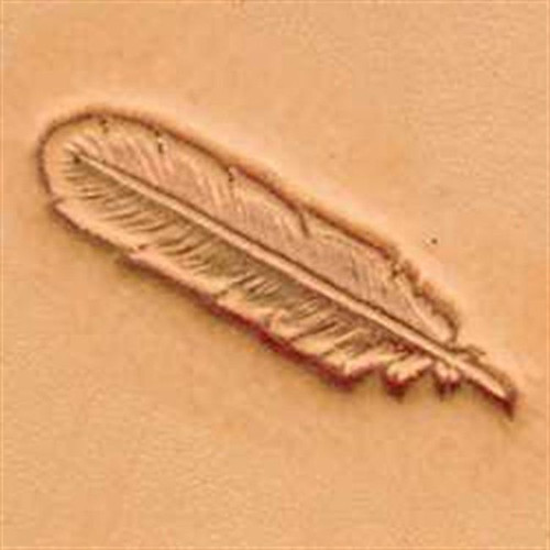 Feather 3D Stamp 88502-00 by Tandy Leather