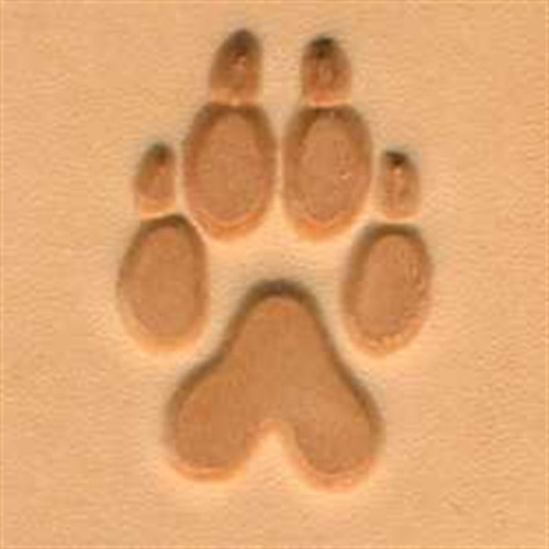 Wolf Track 3D Stamp