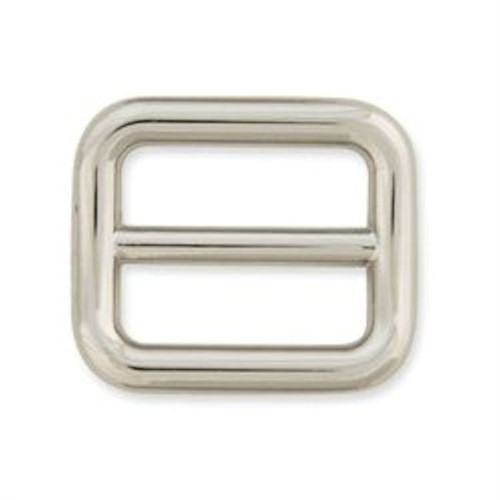 "Strap Slide 3/4"" (19mm) Nickel Plate"