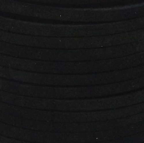 """Suede Lace Black 1/8"""" x 25 yds. by Real Leather Made in USA"""