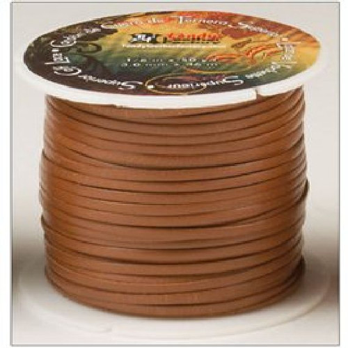 "Superior Calf Lace Tan 1/8"" x 50 yards (3.2 mm x 47.2 M)"