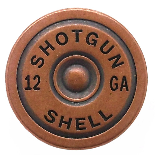 Shotgun Shell Line 24 Snap Cap Antique Copper 7/8""