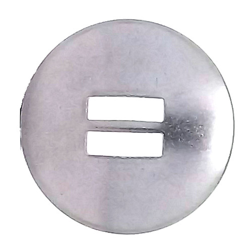 "Slotted Concho Stainless Steel Smooth 1-1/4"" 1350-02"