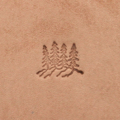 Mountain Tree Leather Craft Stamp