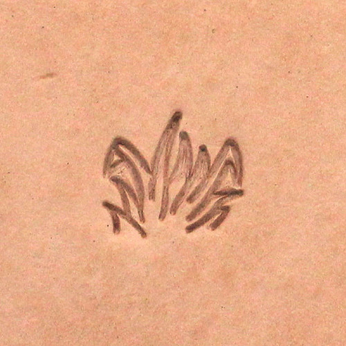 Tall Field of Grass Leather Craft Stamp