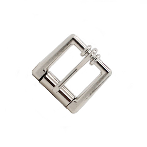 Square Roller Buckle Nickel Plated