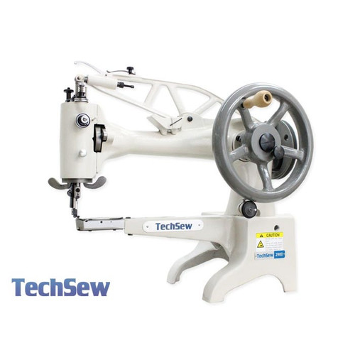 "Techsew 2900 Leather Patcher Sewing Machine 12"" Long cylinder arm"