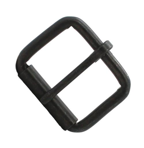 "Black Single Prong Roller Buckle 1-1/2"" 1418-13"