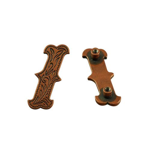 / Screwback Concho in Antique Copper 1339-413