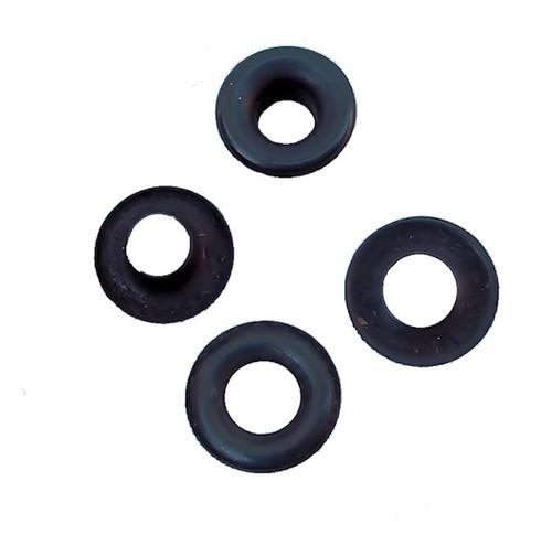 """Black Steel #2 5/16"""" (7.9 mm) Grommets B1S-2"""