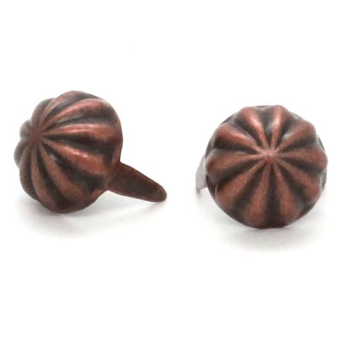 """Parachute Spots Antique Copper 1/2"""" Diameter"""