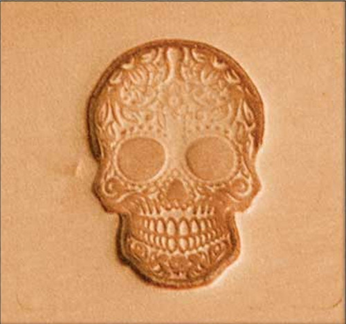 Craftool 2D Stamp Sugar Skull 8693-00