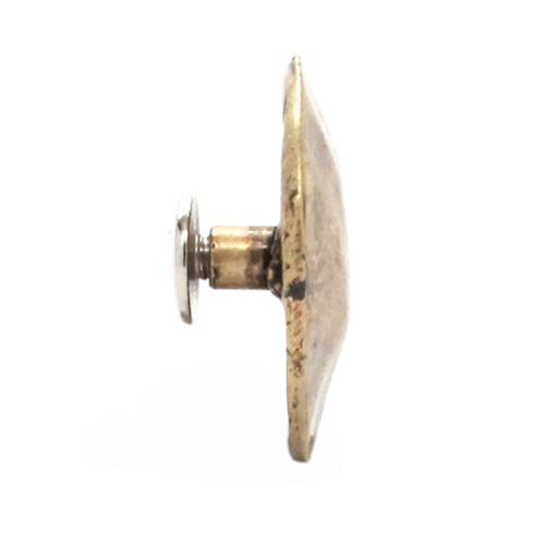 Black Smith Concho Antique Brass Right