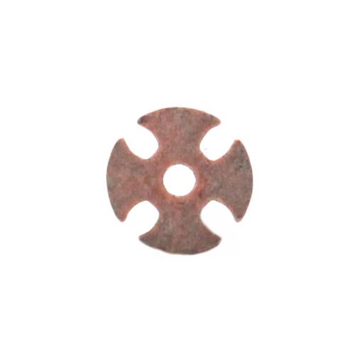 "Maltese Cross Bezel Concho Copper Patina 3/4"" 7785-014"