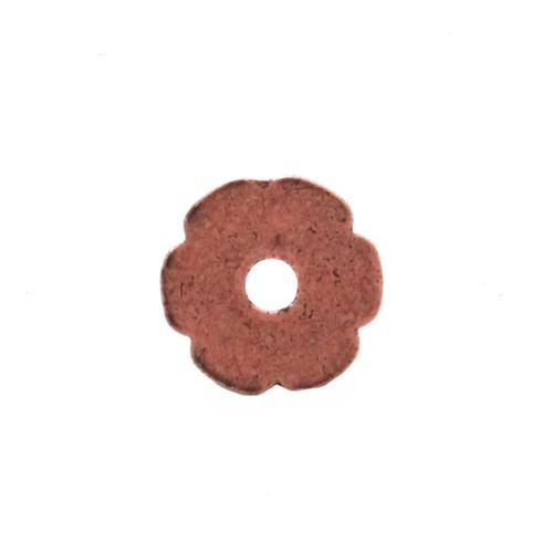 Flower Bezel Concho in Copper Plate Back