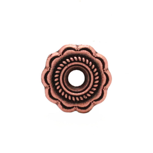 Southwest Bezel Concho in Antique Copper Front
