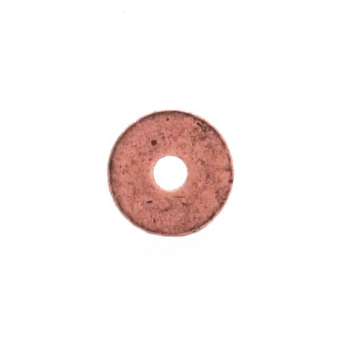 Western Roped Edge Bezel Concho in Copper Back