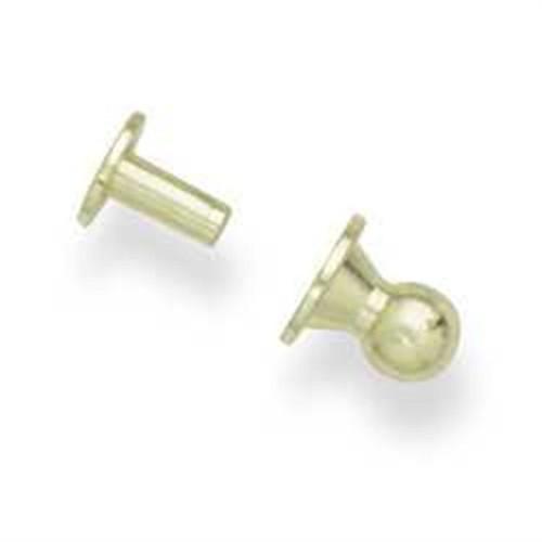 Sam Browne Button Washer Brass New 1309-01