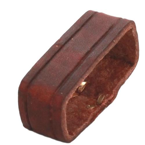 "Leather Loop Chestnut 1-1/2"" Top"